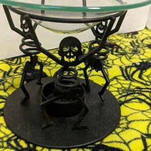 Partylite Halloween skeleton aroma melter